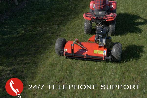 All Rounder Pro Flail Mower - Rancher ATV